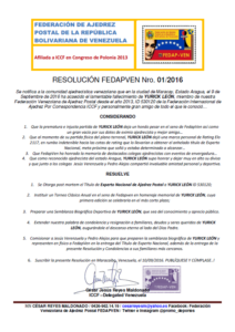 resolucion-01_2016-fedapven-yurick-leon